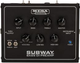 Изображение продукта MESA BOOGIE SUBWAY® BASS DI-PREAMP - предусилитель DI для бас-гитары