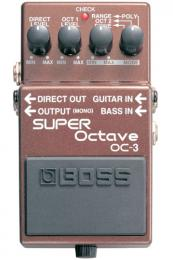 Boss OC-3 SUPER Octave  педаль для электрогитары