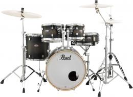 Pearl DMP925F/ C262 ударная установка из 5-ти барабанов, цвет Satin Black Burst, стойки в комплекте